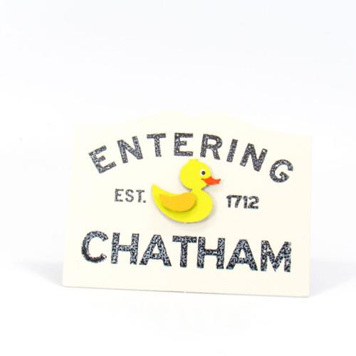 Entering Chatham Metal Magnet | Roeda Designs