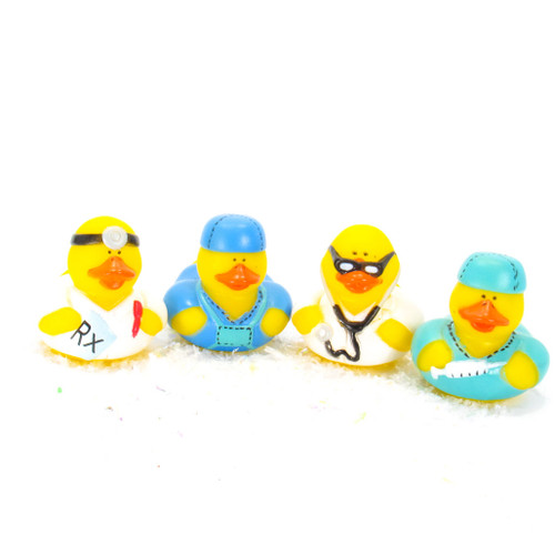 Doctor Small Rubber Duck Gift Bundle | Ducks in the Window