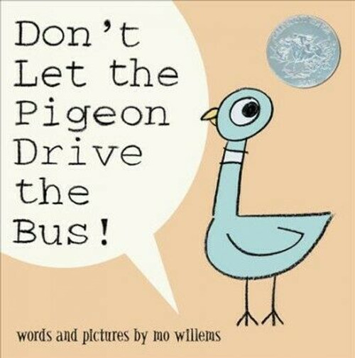 Don't Let the Pigeon Drive the Bus Book | Mo Willems