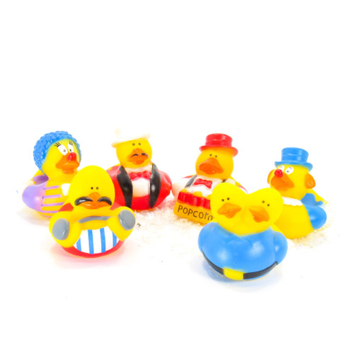 Circus Gift Bundle Small Rubber Ducks | Ducks in the Window