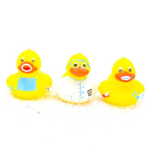 Dentist Gift Bundle Small Rubber Ducks