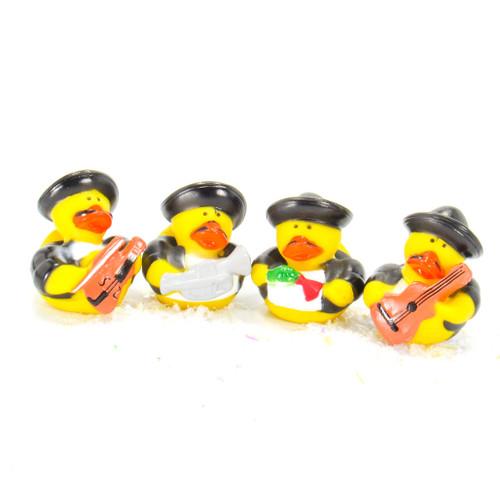 Mariachi Gift Bundle Small Rubber Ducks   Ducks in the Window