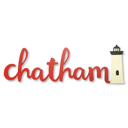 Chatham Lighthouse  Metal Magnets | Roeda Designs
