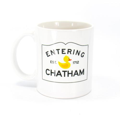 Entering Chatham Mug | Ducks in the Window