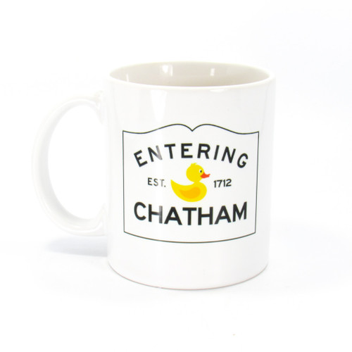 Entering Chatham Mug | Ducks in the Window