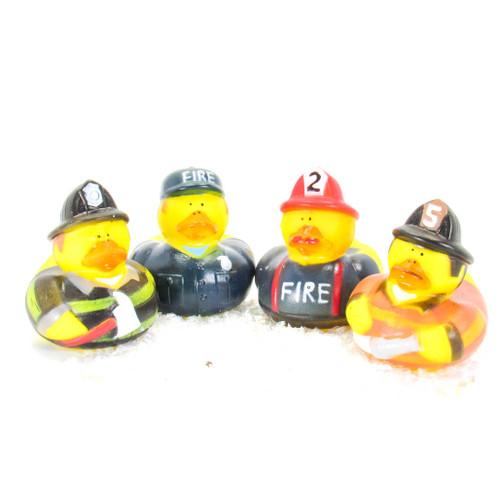 Fireman Gift Bundle Small Rubber Ducks   Ducks in the Window