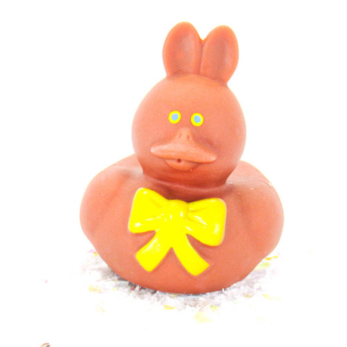 Chocolate Easter Bunny Gift Bundle Small Rubber Ducks | Ducks in the Window
