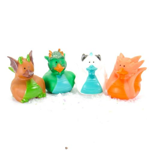 Dragon Gift Bundle Small Rubber Ducks | Ducks in the Window