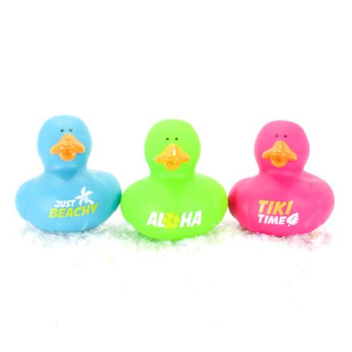Aloha Gift Bundle Small Rubber Ducks | Ducks in the Window