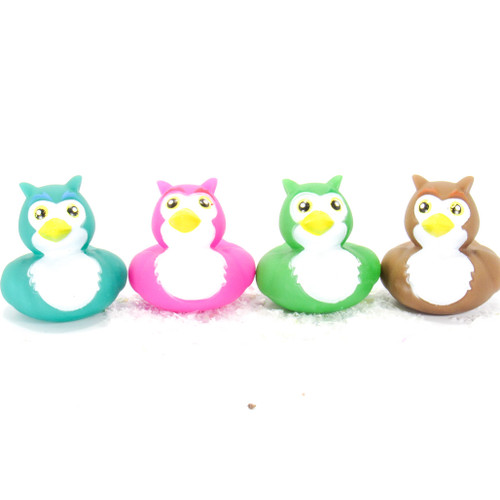 Owls Gift Bundle Small Rubber Ducks