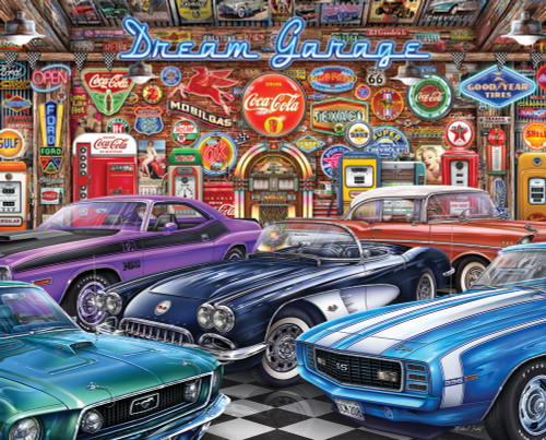 Dream Garage 1000 piece Jigsaw Puzzle by Springbok | Ducks in the Window
