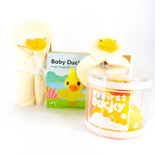 Yellow Ducky Baby Gift Bundle | Ducks in the Window