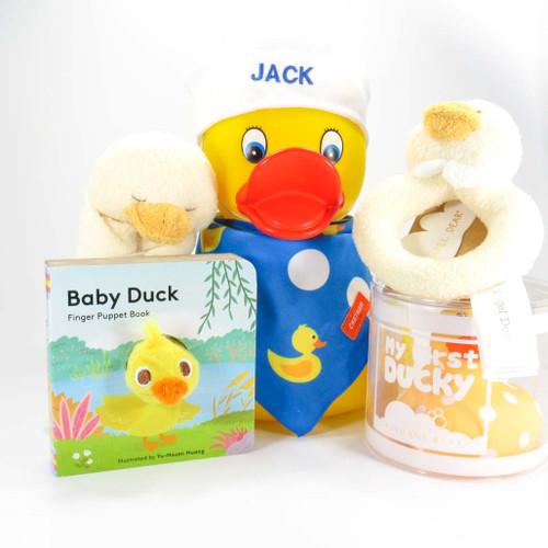 Yellow Ducky Baby Gift Bundle | Ducks in the Window