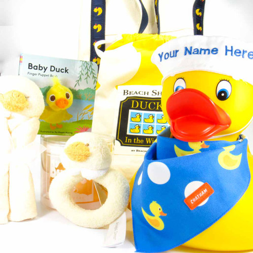 Yellow Ducky Super Baby Gift Bundle | Ducks in the Window