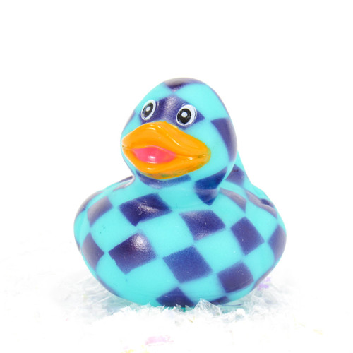 Checkerboard Pattern Gift Bundle Small Rubber Ducks | Ducks in the Window