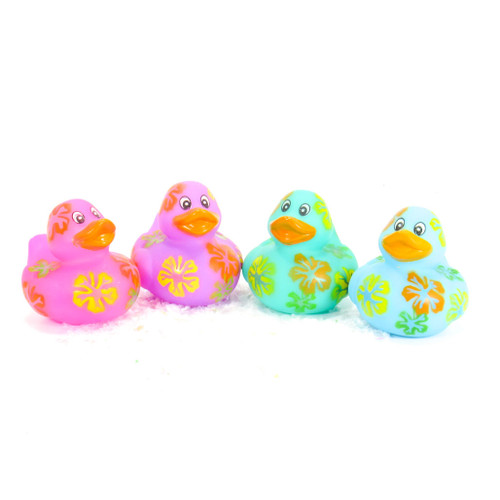 Hibiscus Gift Bundle Small Rubber Ducks | Ducks in the Window
