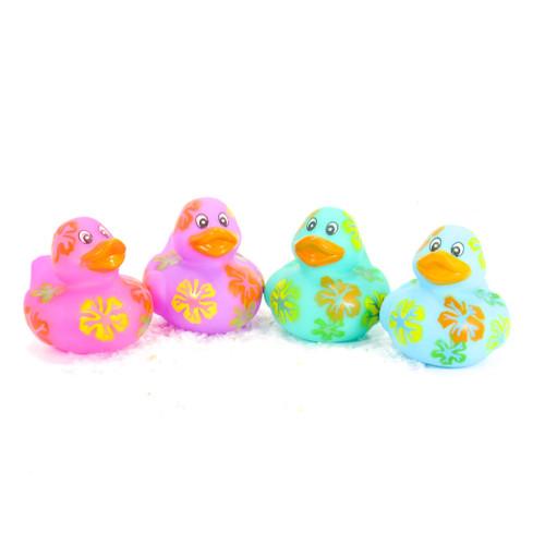 Hibiscus Gift Bundle Small Rubber Ducks | Ducks in the Window