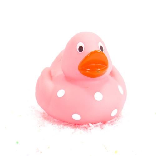 Elegant Baby Polka Dot Gift Bundle Small Rubber Ducks | Ducks in the Window