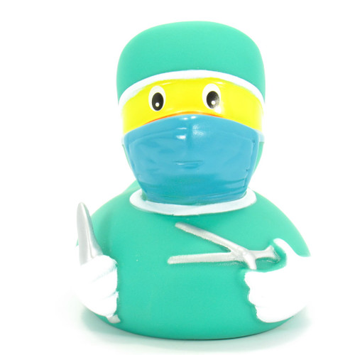 Surgeon Mask Rubber Duck by Ad Line | Ducks in the Window®