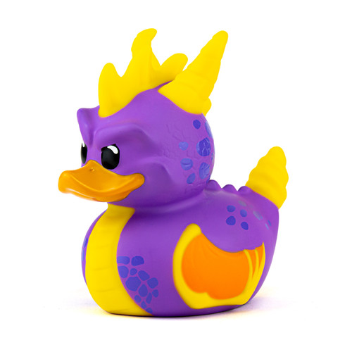 Spyro the Dragon TUBBZ Cosplaying Rubber Duck Collectible Bath Toy | Ducks in the Window