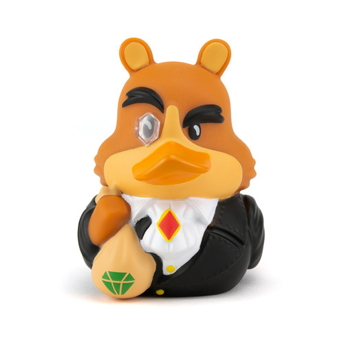 Spyro the Dragon MoneybagsTUBBZ Cosplaying Rubber Duck Collectible Bath Toy   Ducks in the Window