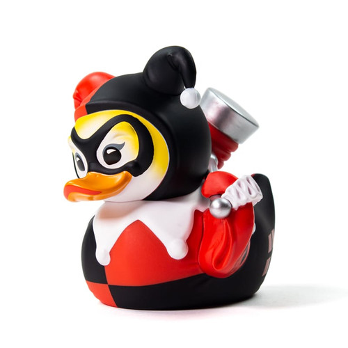 DC Commics Harley Quinn TUBBZ Cosplaying Rubber Duck Collectible Bath Toy | Ducks in the Window