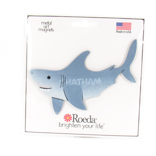 Chatham Great White Shark Metal Magnets | Roeda Designs