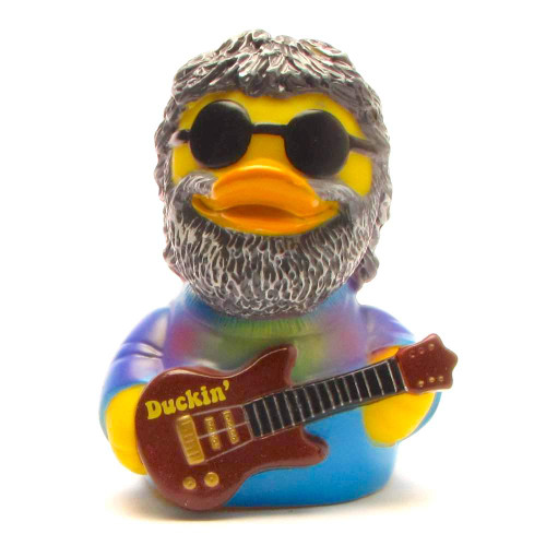 Duckin Rubber Duck (Jerry Garcia/Grateful Dead) by Celebriducks | Ducks in the Window®