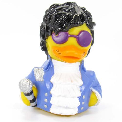 Paddle Like It's 1999 Rubber Duck (Prince, Party Like It's 1999) by Celebriducks   Ducks in the Window®