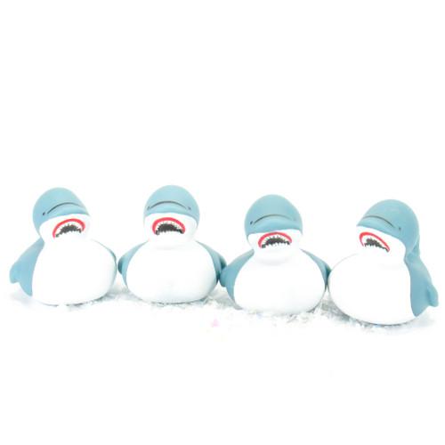 Great White Shark Gift Bundle Small Rubber Ducks | Ducks in the Window