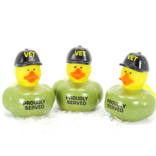 Veterans Gift Bundle Small Rubber Ducks | Ducks in the Window