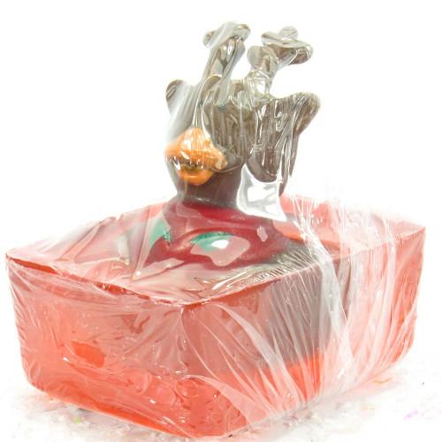 Reindeer Rubber Duck Soap | Ducks in the Window®