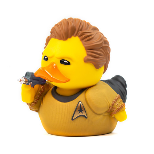 Star Trek James T. Kirk TUBBZ Cosplaying Rubber Duck Collectible Bath Toy | Ducks in the Window