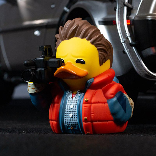 Back To The Future Marty McFly TUBBZ Cosplaying Rubber Duck Collectibles Bath Toy | Ducks in the Window