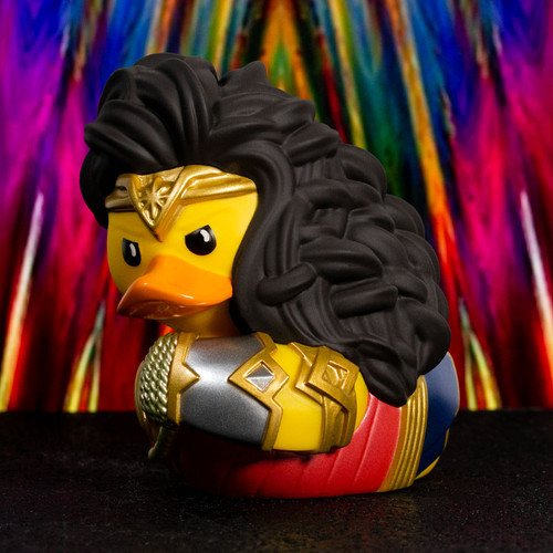 Wonder Woman DC Comics TUBBZ Cosplaying Rubber Duck Collectibles Bath Toy | Ducks in the Window