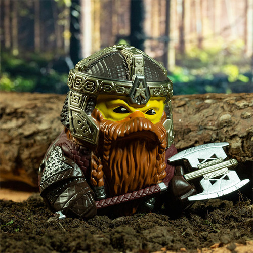 Lord of the Rings Gimli TUBBZ Cosplaying Rubber Duck Collectibles Bath Toy   Ducks in the Window