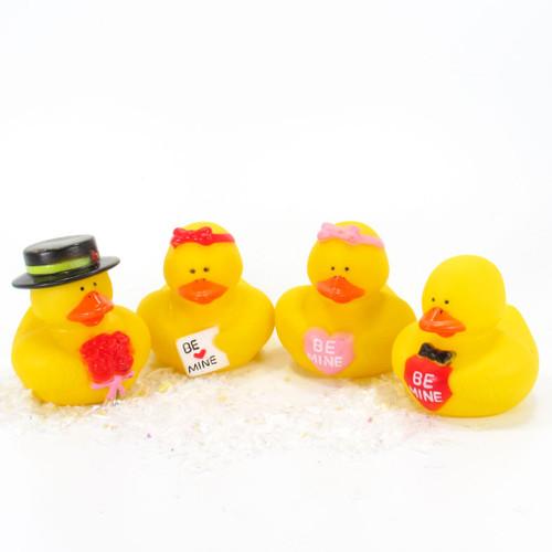Valentine's  Gift Bundle Small Rubber Ducks | Ducks in the Window
