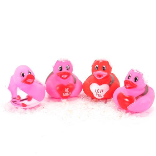 Valentine's Cupid Gift Bundle Small Rubber Ducks | Ducks in the Window