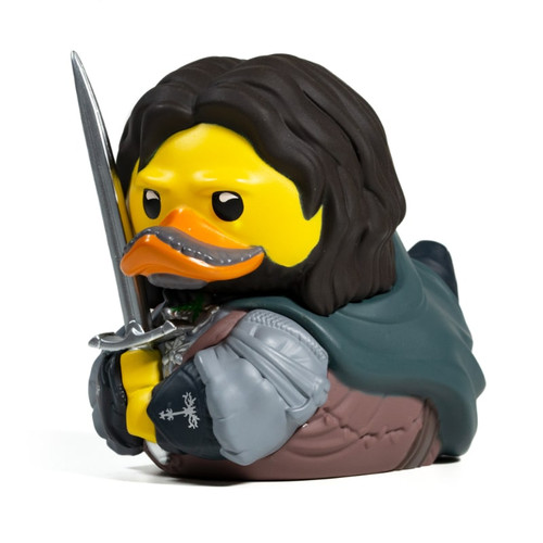 Lord of the Rings Aragorn TUBBZ Cosplaying Rubber Duck Collectibles Bath Toy   Ducks in the Window