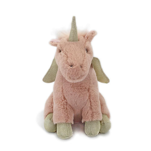 'Uliana' Pink Unicorn Plush 11in by Mon Ami Designs