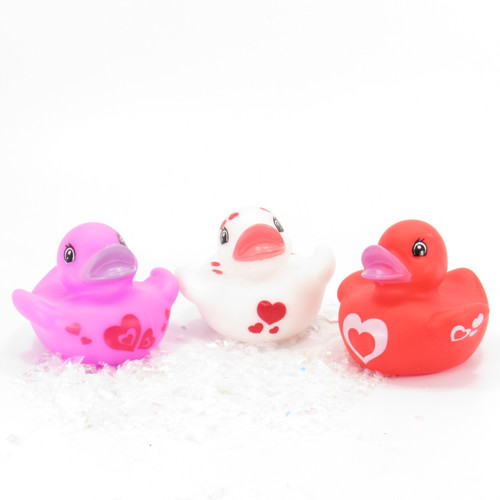 Valentine's Gift Cards Gift Bundle Small Rubber Ducks | Ducks in the Window