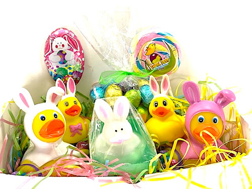 Easter Basket Full of Fun by Ducks in the Window