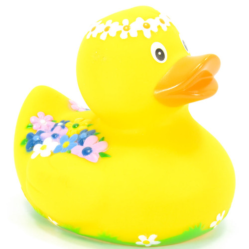 Spring Rubber Duck by Schnabels  | Ducks in the Window®