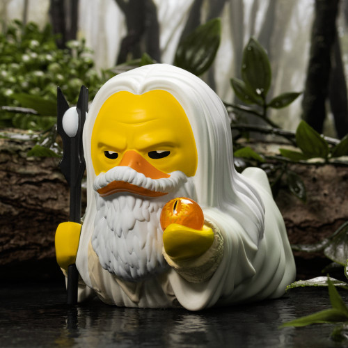 Lord of the Rings Saruman TUBBZ Cosplaying Duck Collectible   Ducks in the Window