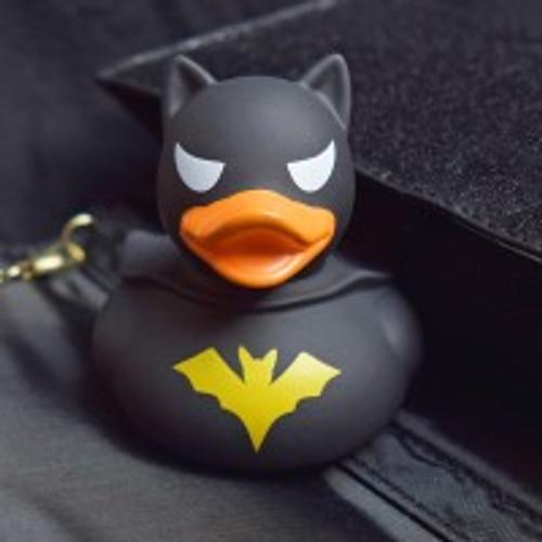 Batman Dark Rubber Duck by LILALU bath toy | Ducks in the Window