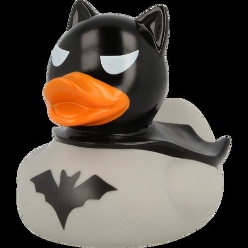 Batman Dark Grey Rubber Duck by LILALU bath toy | Ducks in the Window