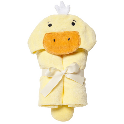 Yellow Ducky Bath Wrap by Elegant Baby | Ducks in the Window®