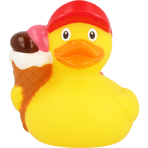 Ice Cream Rubber Duck by LILALU bath toy   Ducks in the Window