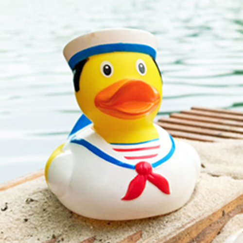 Sailor Rubber Duck by LILALU bath toy | Ducks in the Window
