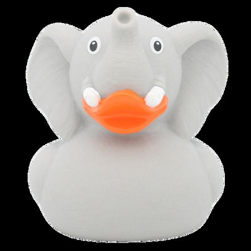 Elephant Zoo Dumbo Rubber Duck by LILALU bath toy   Ducks in the Window